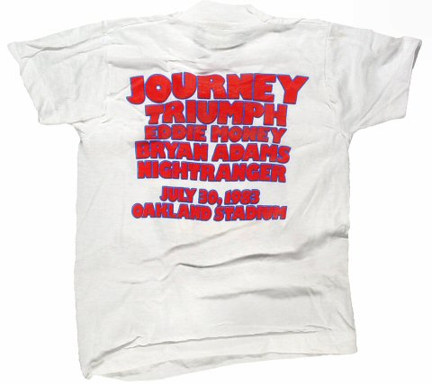 Journey Kid's Vintage T-Shirt reverse side