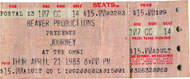 Journey Vintage Ticket