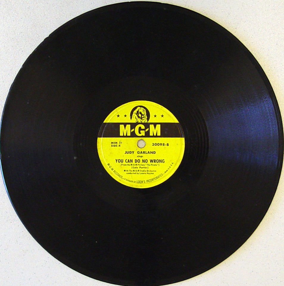 Judy Garland 78