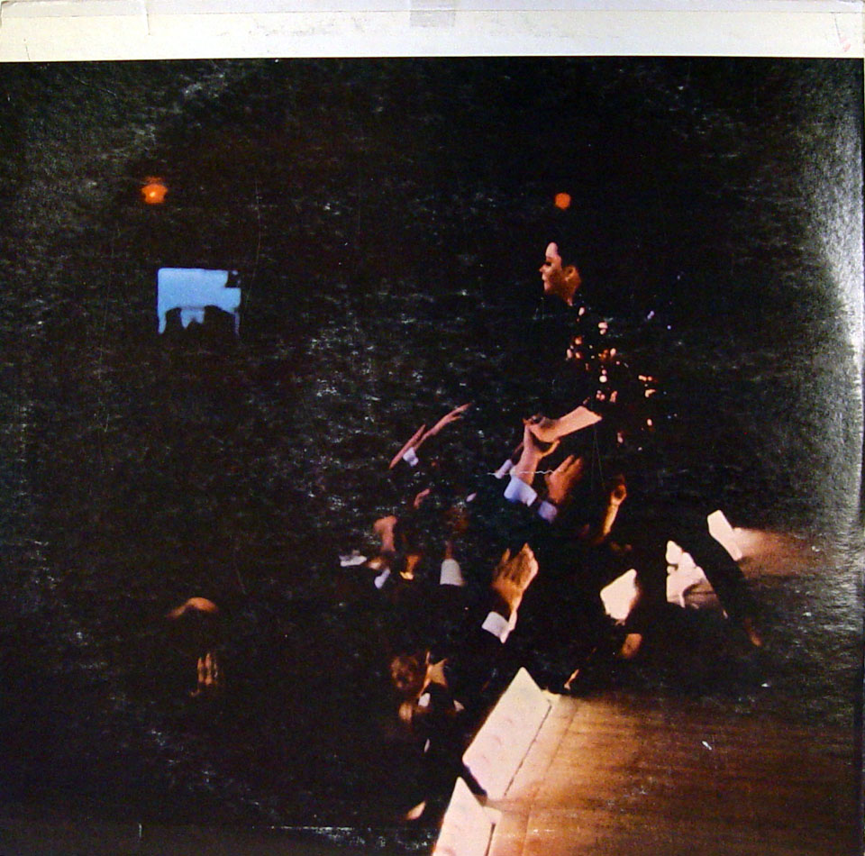 "Judy Garland Vinyl 12"" (Used) reverse side"