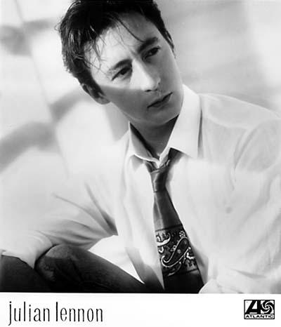 Julian Lennon Promo Print