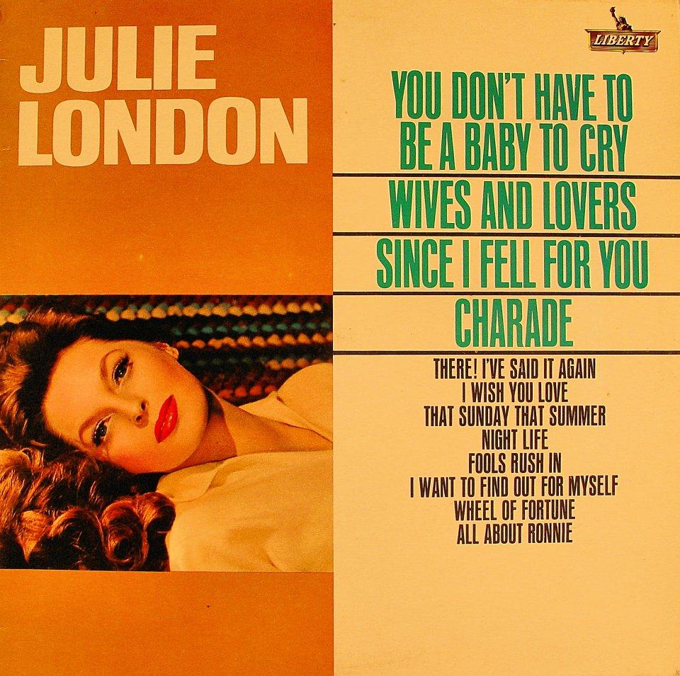 """Julie London Vinyl 12"""" (Used)"""