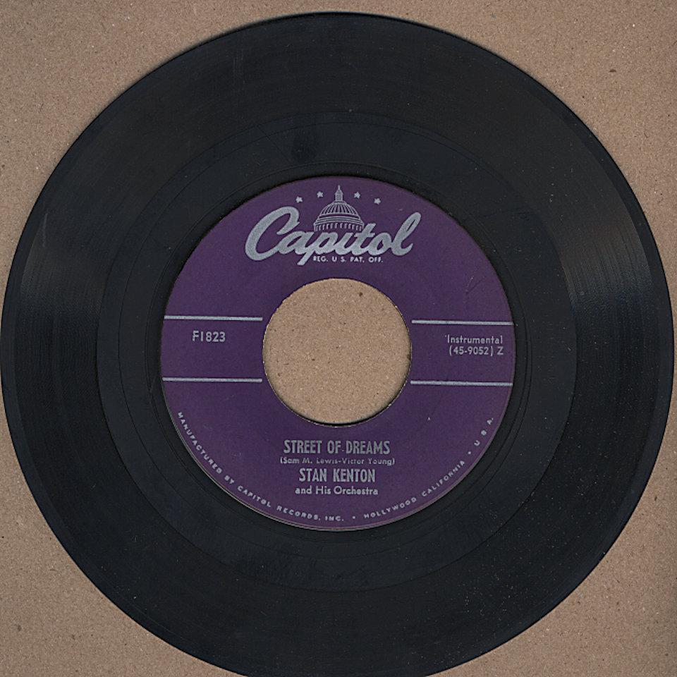 "June Christy And Stan Kenton Vinyl 7"" (Used)"
