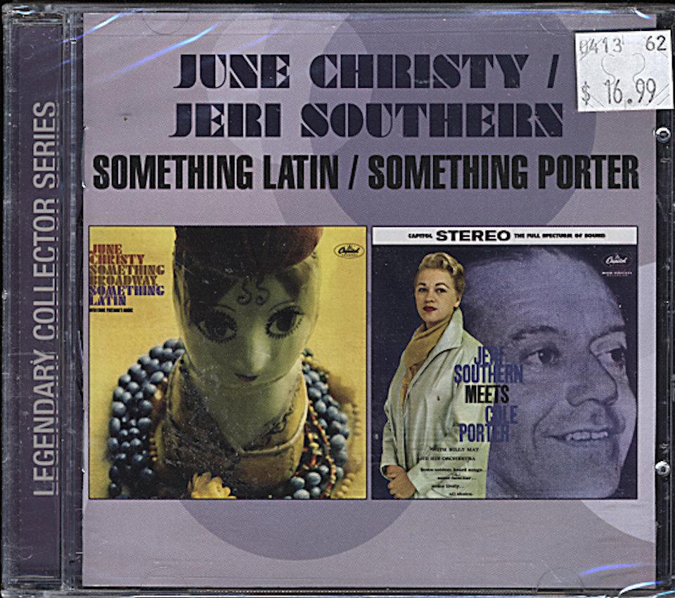 June Christy / Jeri Southern CD