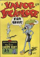 Junior Jackalope Comic Book