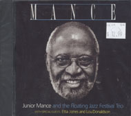 Junior Mance and the Floating Jazz Festival Trio CD