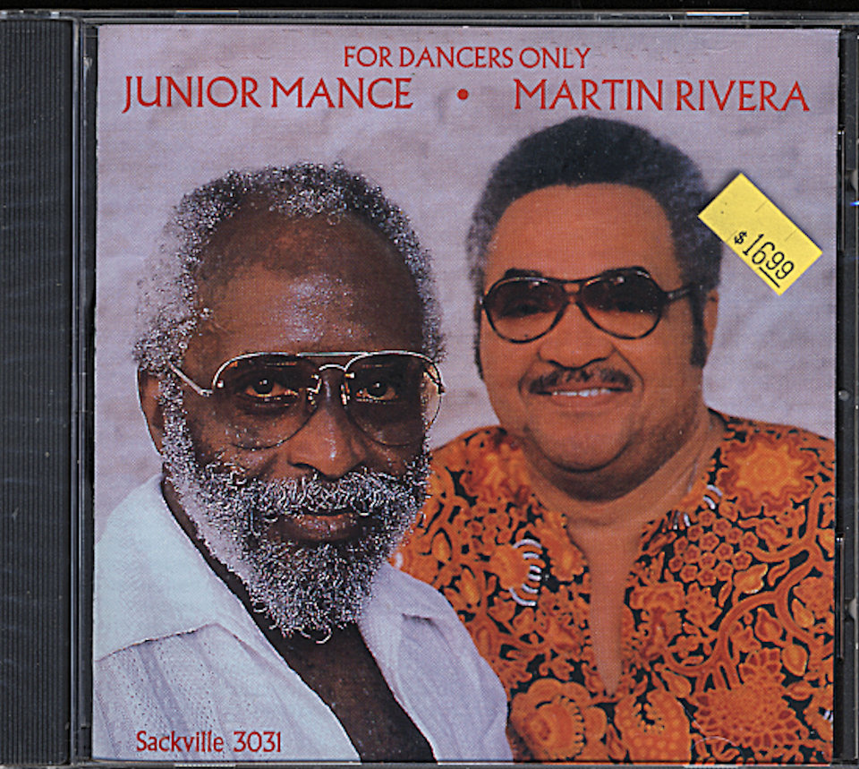 Junior Mance / Martin Rivera CD