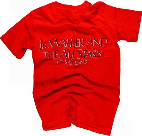 Junior Walker Men's Vintage T-Shirt reverse side