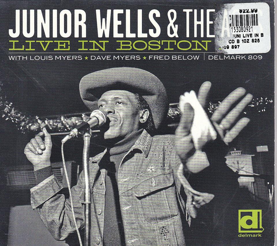Junior Wells & The Aces CD