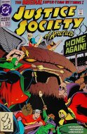 Justice Society Of America Comic Book