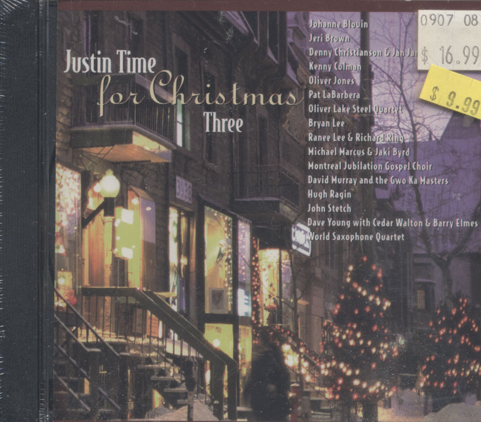 Justin Time for Christmas Three CD