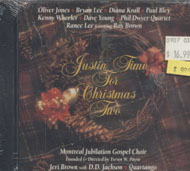 Justin Time For Christmas Two CD