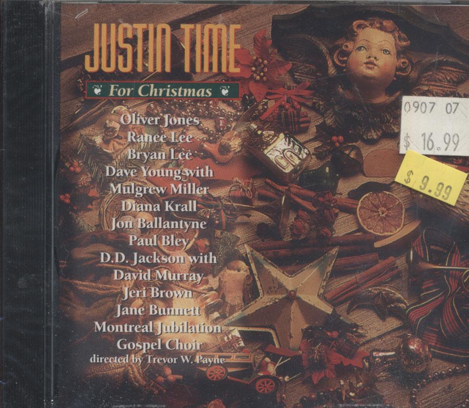 Justin Time For Christmas CD
