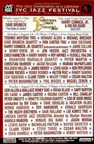 JVC Jazz Festival New York Handbill