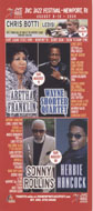JVC Jazz Festival Postcard