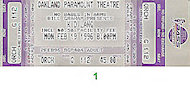 k.d. lang Vintage Ticket