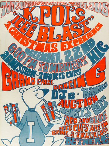 K-POI's Icee Blast Poster