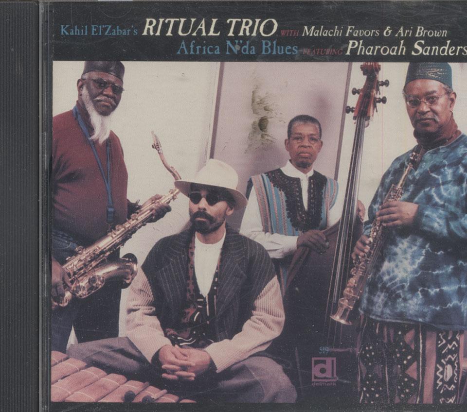 Kahil El'Zabar's Ritual Trio Featuring Pharoah Sanders CD