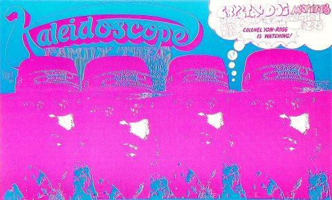 Kaleidoscope Handbill