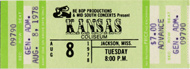 Kansas Vintage Ticket