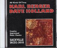 Karl Berger & Dave Holland CD