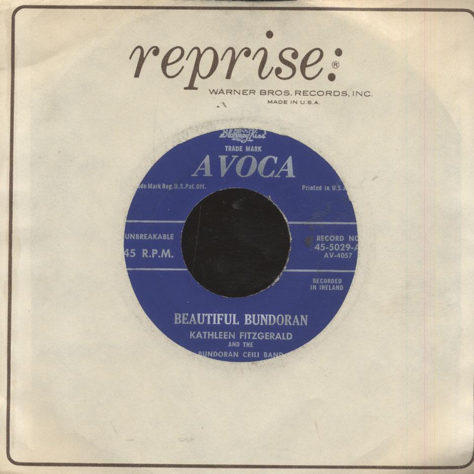 "Kathleen Fitzgerald Vinyl 7"" (Used)"