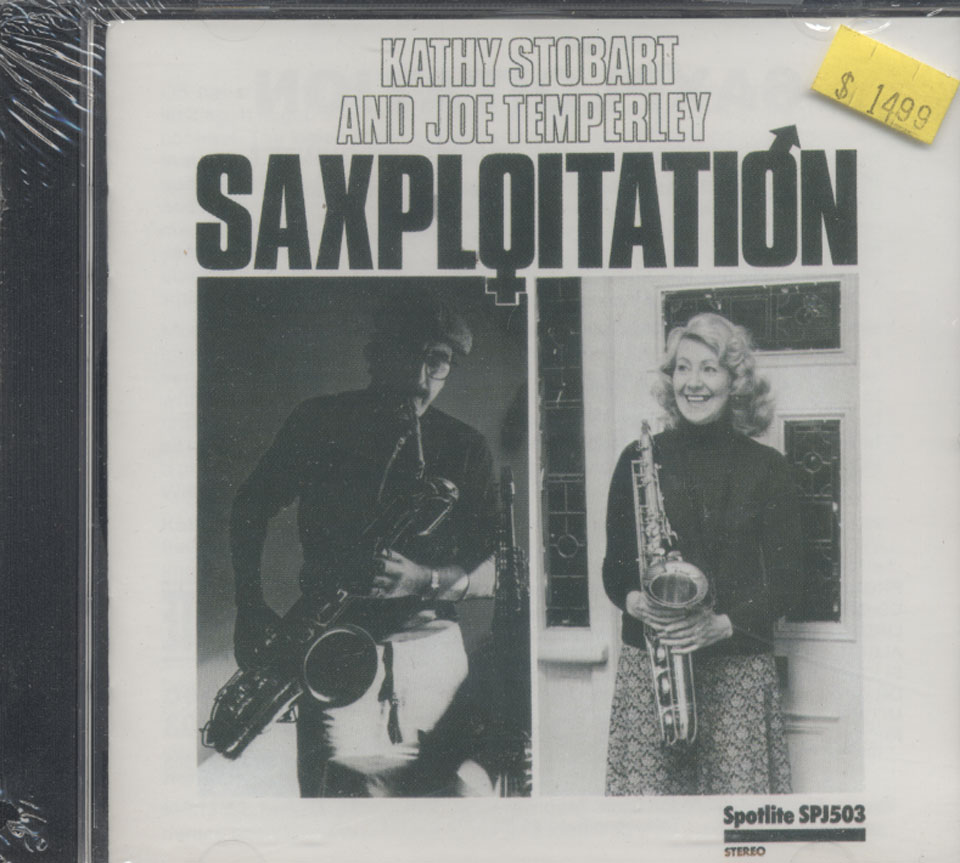 Kathy Stobart & Joe Temperley CD