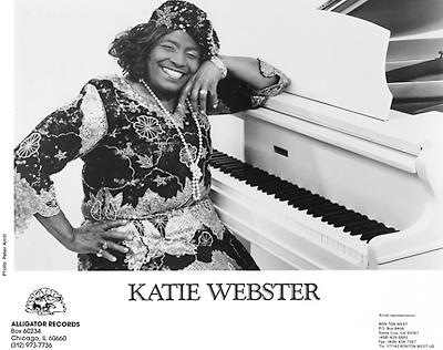 Katie Webster Promo Print