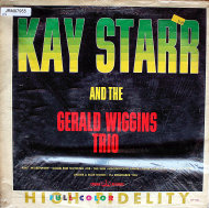 "Kay Starr And The Gerald Wiggins Trio Vinyl 12"" (Used)"