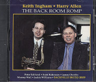 Keith Ingham / Harry Allen CD