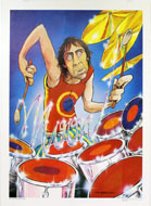 Keith Moon Poster