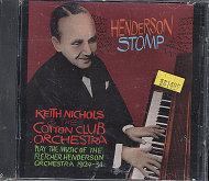 Keith Nichols & The Cotton Club Orchestra CD