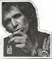 Keith Richards Pin