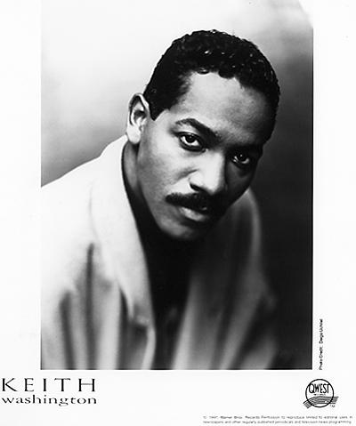 Keith Washington Promo Print