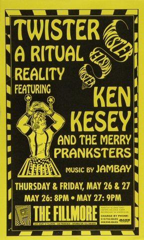 Ken Kesey Poster