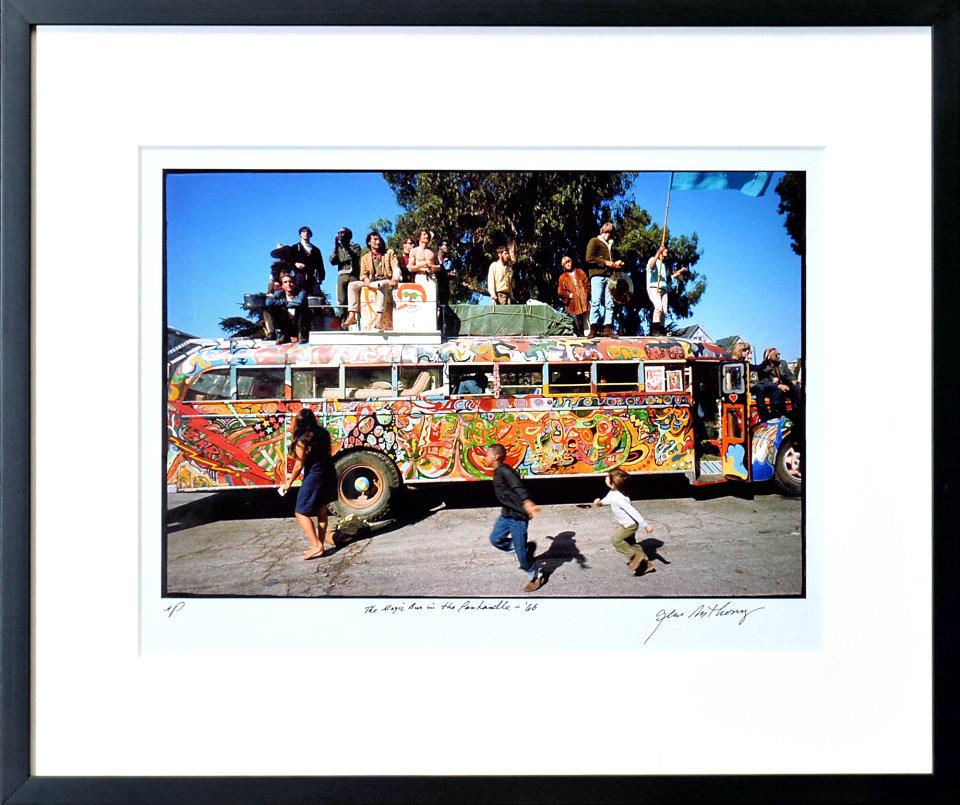 Ken Kesey's Bus Framed Fine Art Print