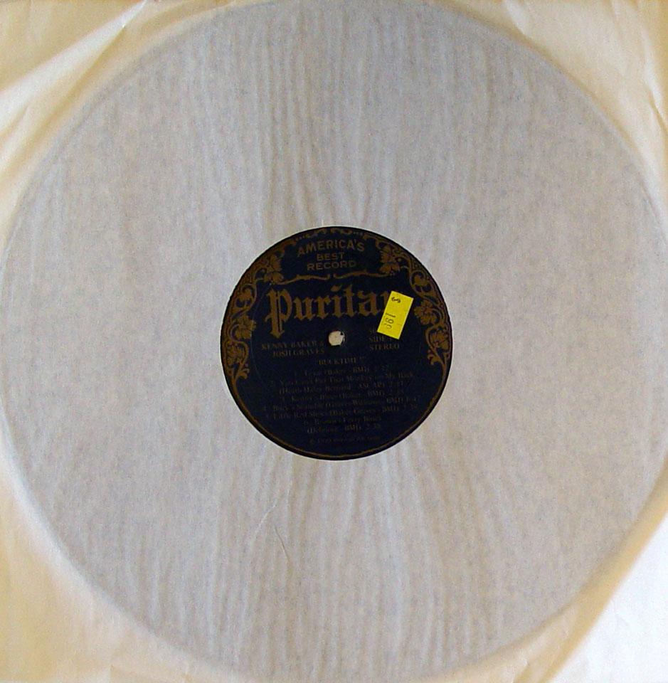 "Kenny Baker Vinyl 12"" (Used)"