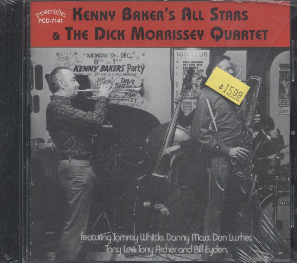 Kenny Baker's All Stars & The Dick Morrissey Quartet CD