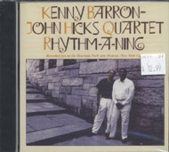 Kenny Barron - John Hicks Quartet CD