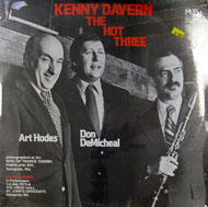 "Kenny Davern / Art Hodes / Don DeMichael Vinyl 12"" (New)"