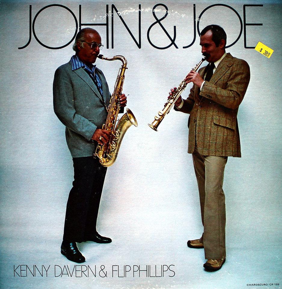 """Kenny Davern / Flip Phillips Vinyl 12"""" (Used)"""