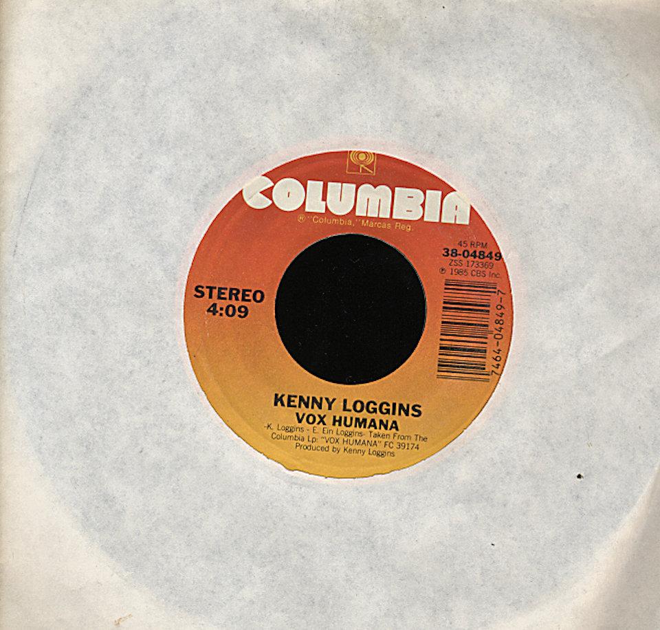 "Kenny Loggins Vinyl 7"" (Used)"