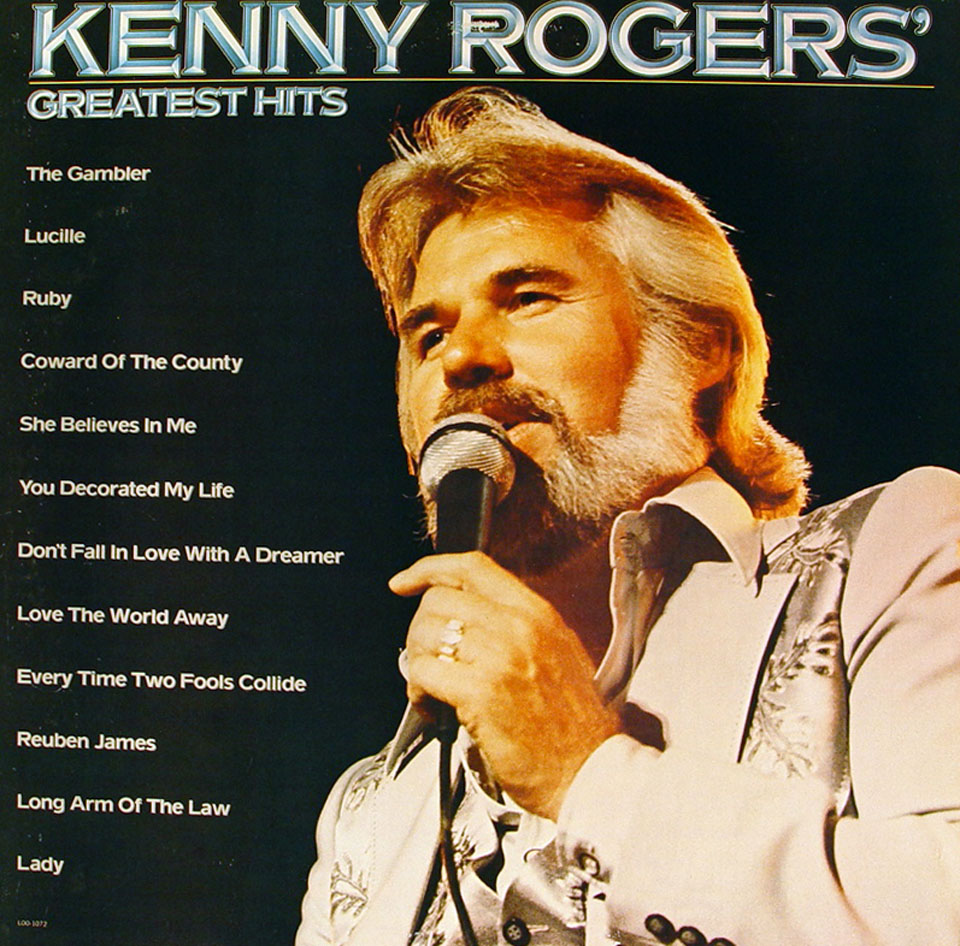 "Kenny Rogers Vinyl 12"" (Used)"