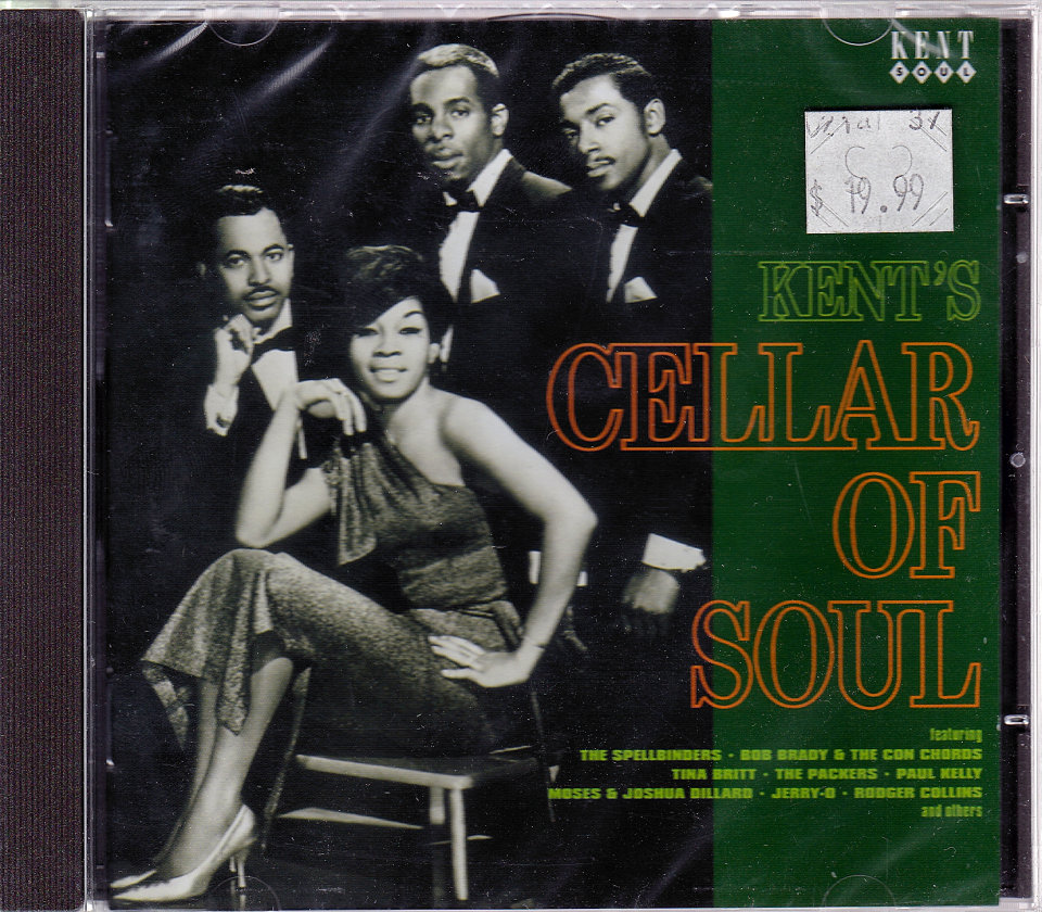 Kent's Cellar of Soul CD