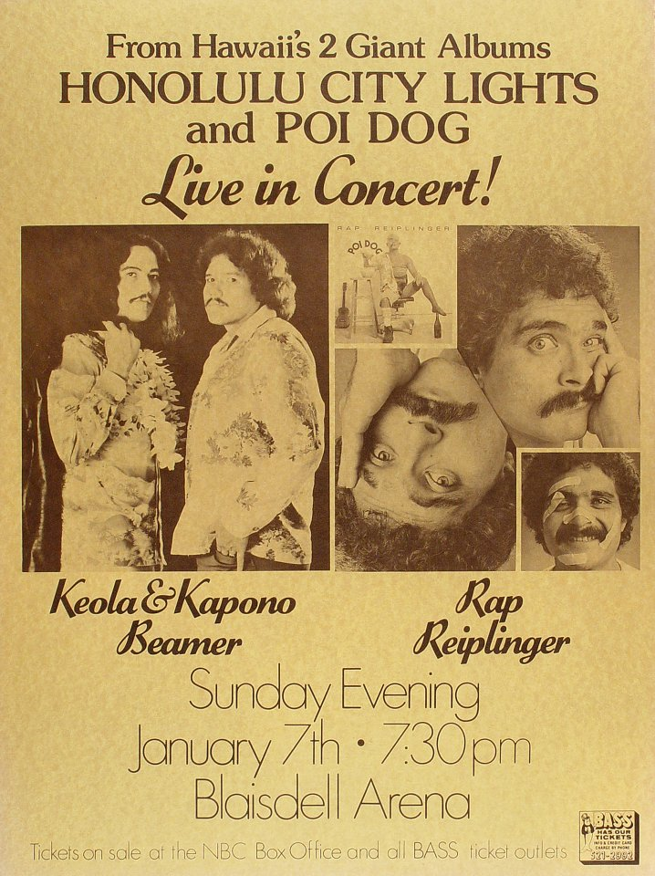Keola and Kapono Beamer Poster