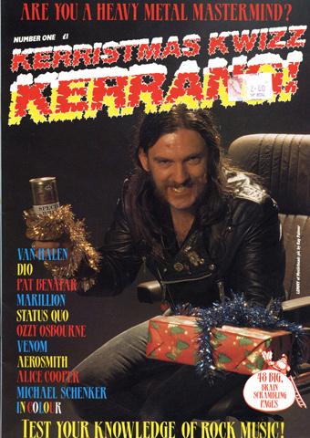Kerrang! Kerristmas Kwizz 1984