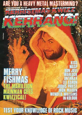 Kerrang! Kerristmas Kwizz 1986
