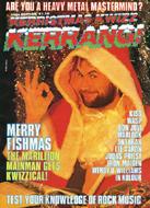 Kerrang! Kerristmas Kwizz 1986 Magazine