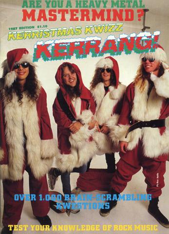 Kerrang! Kerristmas Kwizz 1987