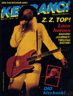 Kerrang Magazine April 7, 1983 Magazine